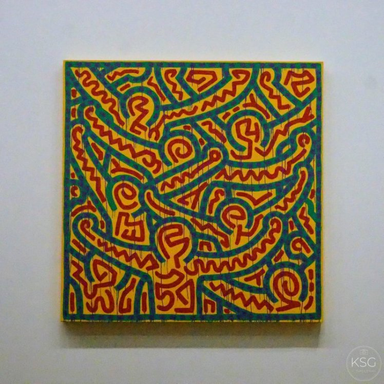 Haring´s last painting