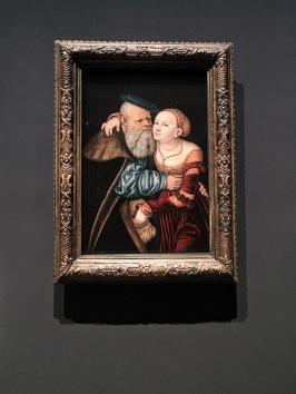 The Unequal Couple by Lucas Cranach the Elder (15319