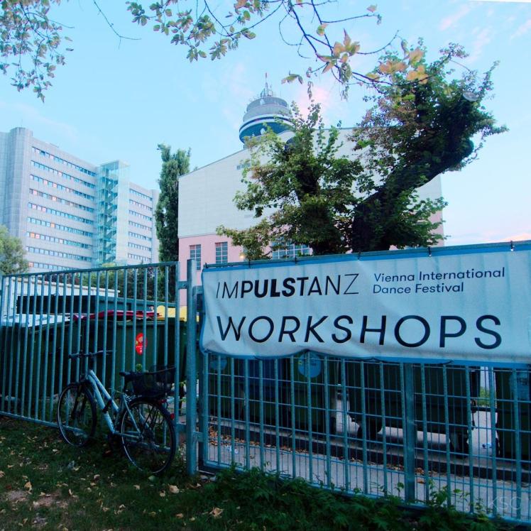 ImPulsTanz Workshops signs