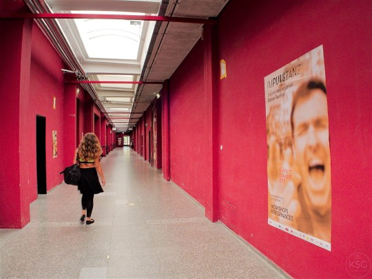The long hallway of Objekt 19