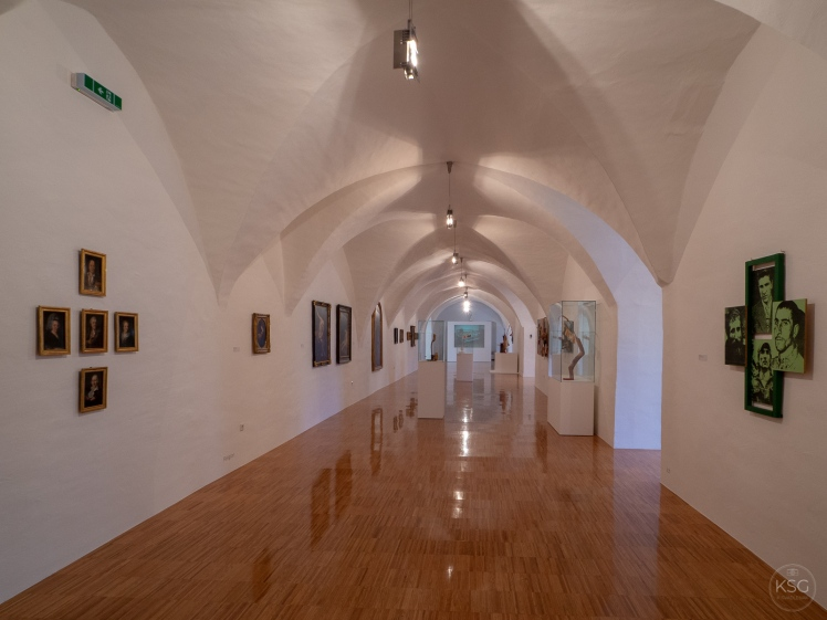 The Kremsmuseum exhibition space