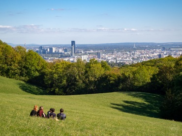The views over Vienna can´t be beat