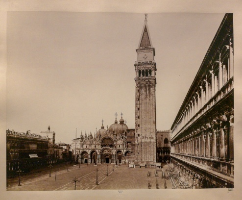 St. Mark´s square and basilica (1893)