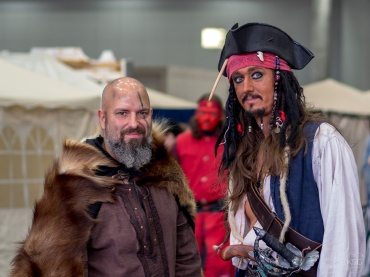 Handsome pirates and more