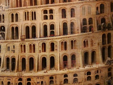 Detail of the (Little) Tower of Babel