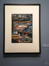 Rudolf Kalvach: Triest Harbour, 1907/08