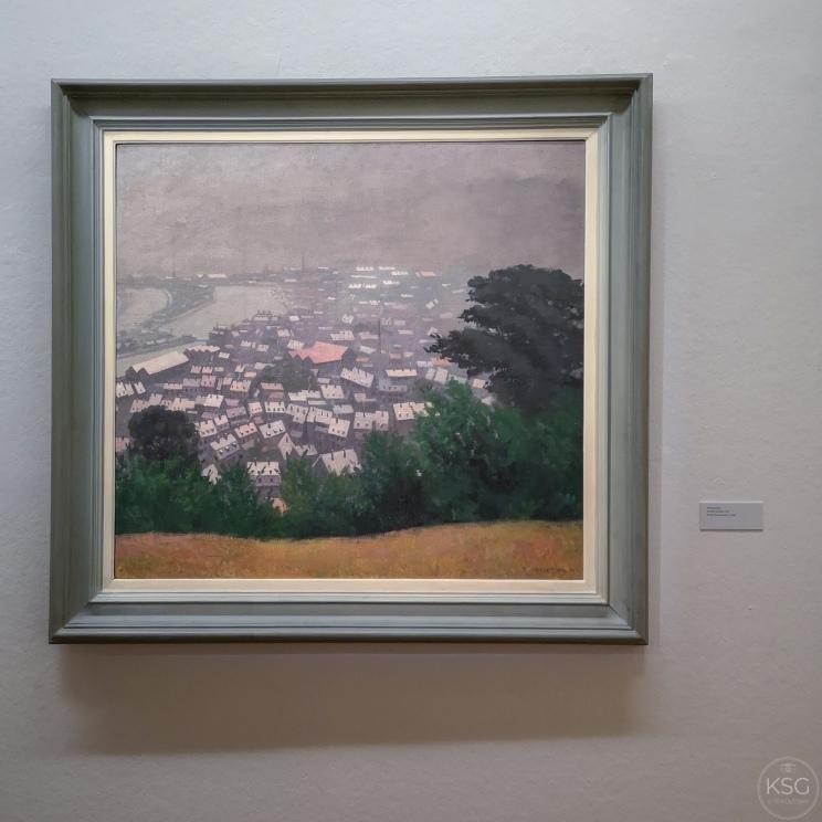 Félix Valloton: Honfleur in fog, 1911