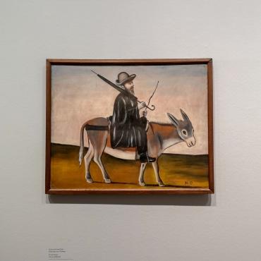 Physician on a Donkey