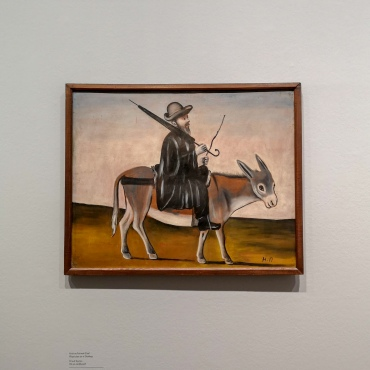 Physician on a Donkey
