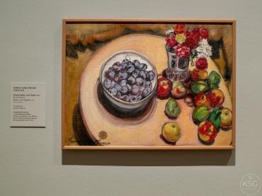 Plums and Apples, Fanny Harflinger-Zakucka, 1929
