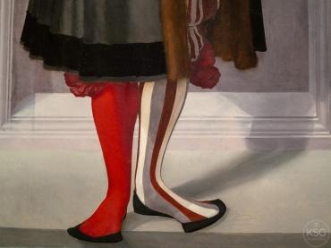 Socks were a big deal, shoes were not