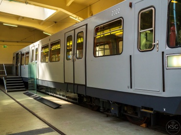Silberpfeil, the first underground car