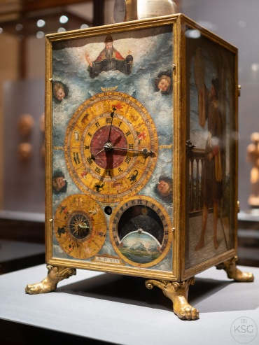 Southern German table clock from 1545