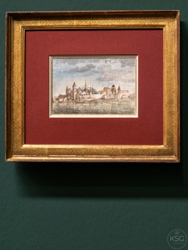 View of Innsbruck from the North, 1495