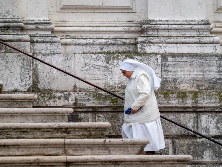 Pilgrims visit la Salute