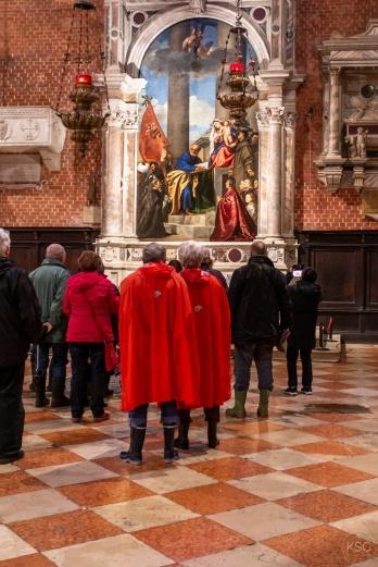 The Pesaro Altarpiece by Tiziano Vecellio